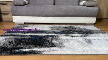 Modern szőnyeg akció, LARA kék-szürke 4862 60x110cm