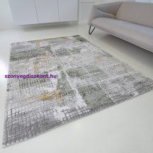 Modern szőnyeg akció, ZARIF 007 zöld-arany 120x170cm