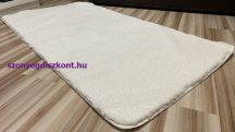 Serrano fehér 67x110cm-gumis hátoldalú