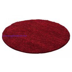 Ay dream 4000 piros 80cm kör shaggy szőnyeg