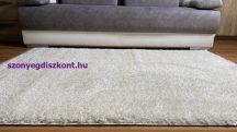 Prémium bézs shaggy szőnyeg 80x150cm